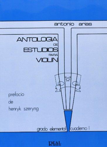 9788438700594: ANTOLOGIA DE ESTUDIOS PARA VIOLIN 1 G. ELEMEN