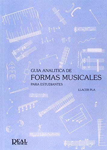 9788438700679: GUIA ANALITICA DE FORMAS MUSICALES PARA ESTUDIANTES
