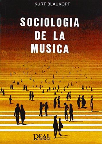 9788438702932: Sociología de la Música