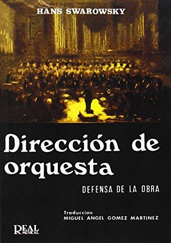 9788438703090: Hans Swarowsky: Dirección de Orquesta (RM Pedag.Libros Tècnicos)
