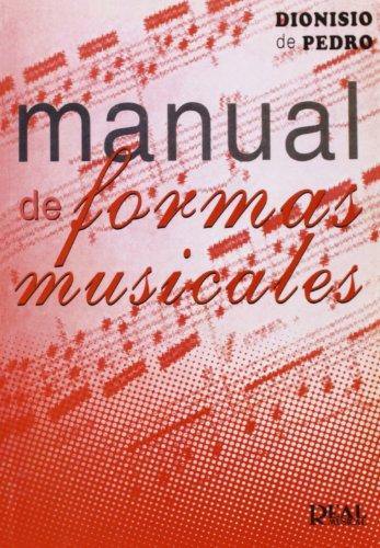 9788438703267: MANUAL DE FORMAS MUSICALES