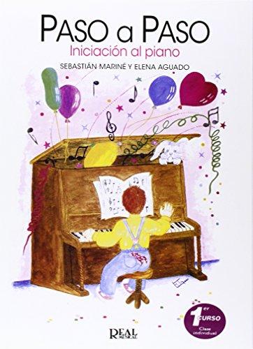 9788438705773: PASO A PASO INICIACION AL PIANO 1ER CURSO CLASE INDIVIDUAL