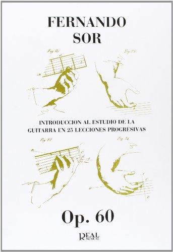 9788438707159: SOR - Estudios Preparatorios (25) Op.60 para Guitarra (Cortes)