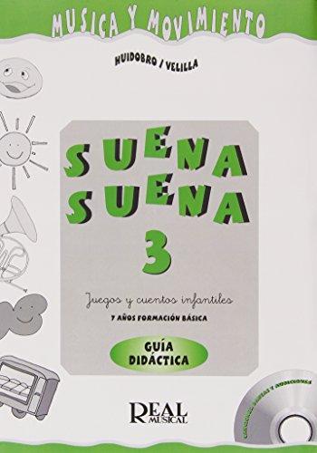 9788438708538: Suena Suena 3, Juegos y Cuentos Infantiles, para 7 Años (Formación Básica - Guía Didáctica del Profe