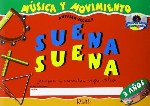 9788438709719: SUENA SUENA 3 ANOS + CD (RM Pedag Musica y Movimiento)