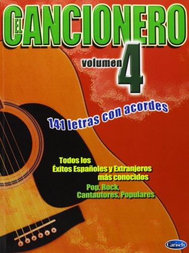 9788438710173: CANCIONERO - El Cancionero Vol.4 (141 Letras con Acordes) para Guitarra