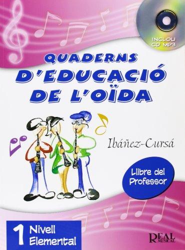 9788438710258: Quaderns d'Educació de l'Oïda, Vol.1 - Nivell Elemental (Llibre del Professor) (RM Audicion)