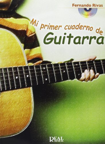 9788438710326: Mi primer cuaderno de guitarra con cd