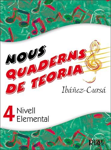 9788438710616: Nous Quaderns de Teoria, Vol.4 - Nivell Elemental (RM Teoria de la musica)