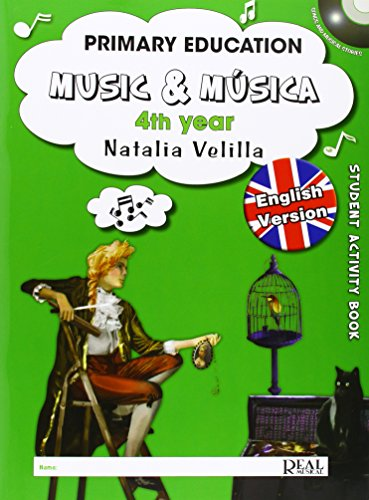 9788438711705: Music & Música, Volumen 4 (Student Activity Book) (Music and Música)