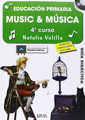 9788438711712: Music & Música, Volumen 4 (Profesor) (Music and Música)