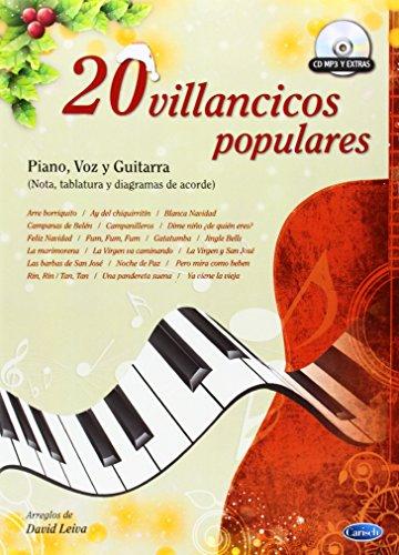 9788438711989: 20 Villancicos Populares