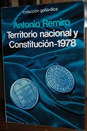 Territorio nacional y Constitución-1978: Antonio Remiro Brotons