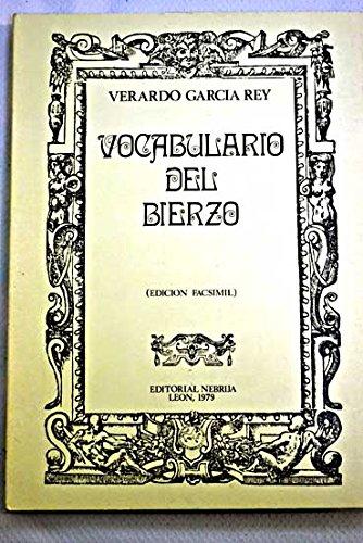 9788439160274: Vocabulario del Bierzo