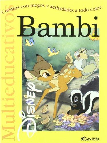 Bambi: Cuentos con juegos y actividades a todo color (Multieducativos Disney): n/a