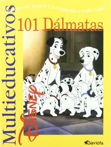 101 Dálmatas: Cuentos con juegos y actividades: Walt Disney Company