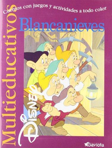 9788439201175: Blancanieves: Cuentos con juegos y actividades a todo color (Multieducativos Disney)