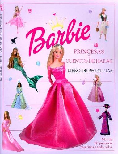 9788439202721: Princesas y cuentos de hadas. Barbie, libro de pegatinas (Barbie / Libros de pegatinas)