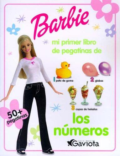 9788439202813: Barbie. Mi primer libro de los números (Barbie / Mi primer libro de pegatinas)