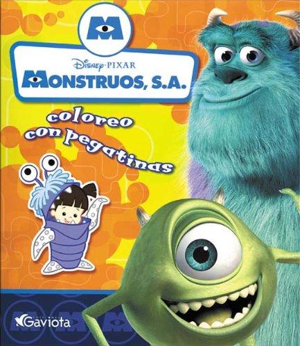 9788439203278: Monstruos S.A.: Coloreo con pegatinas