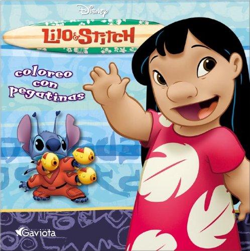 9788439203285: Lilo & Stitch. Coloreo con pegatinas