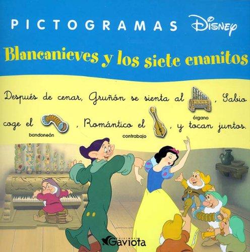 9788439206323: Blancanieves y los siete enanitos (Pictogramas Disney)
