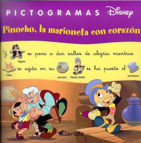 9788439206354: Pinocho, la marioneta con corazón (Pictogramas Disney)