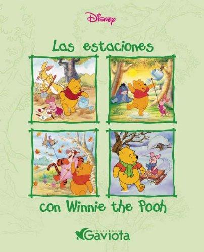 9788439211518: Las estaciones con Winnie the Pooh