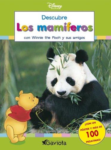 9788439212812: Descubre los mamíferos con Winnie the Pooh y sus amigos (Descubre el mundo con Winnie the Pooh / Cuadernos de actividades)