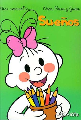 9788439214427: Sueños (Libros para colorear Nene, Nena y Guau)