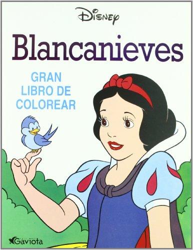 9788439281214: Blancanieves (Gran libro de colorear)