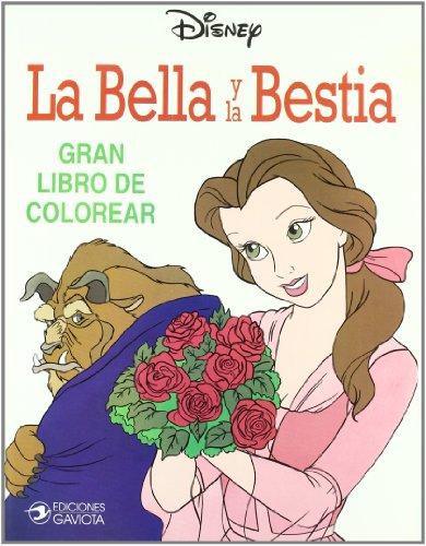 9788439281245: La Bella y la Bestia (Gran libro de colorear)