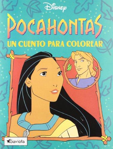 9788439281474: Pocahontas: un cuento para colorear