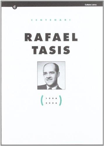 9788439373094: Centenari Rafael Tasis (1906-2006) (Centenaris)