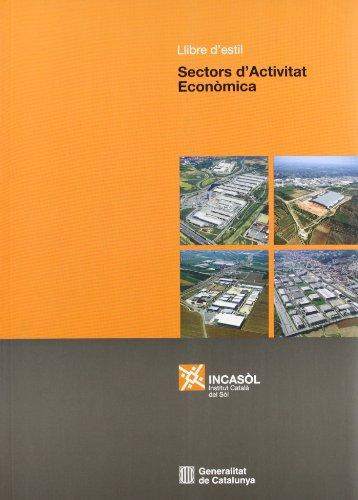 9788439376866: Llibre d'estil dels sectors d'activitat econòmica (Generalitat de catalunya)