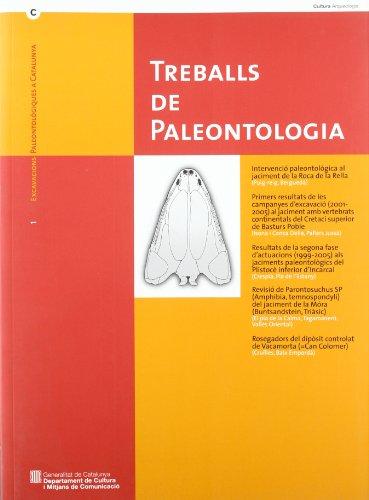 9788439382393: Treballs de paleontologia (Excavacions paleontològiques a Catalunya)