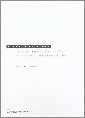9788439386780: Material didàctic per a cursos de llengua catalana de nivell intermedi (B)