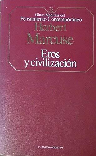 9788439500735: Eros y la Civilización (Obras Maestras del Pensamiento Contemporáneo)