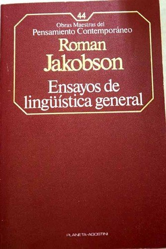9788439501053: Ensayos de lingüística general