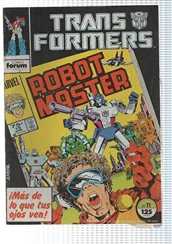 9788439501176: Comic, Forum: Transformers num 11 - A ritmo de rock