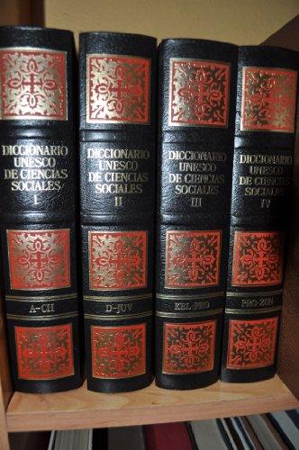 9788439506119: Diccionario Unesco de Ciencias Sociales