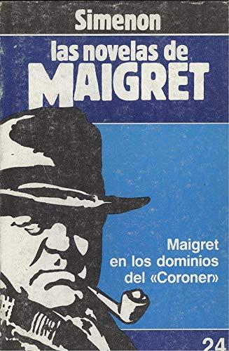 """9788439506164: Maigret en los dominios del """"Coroner"""""""