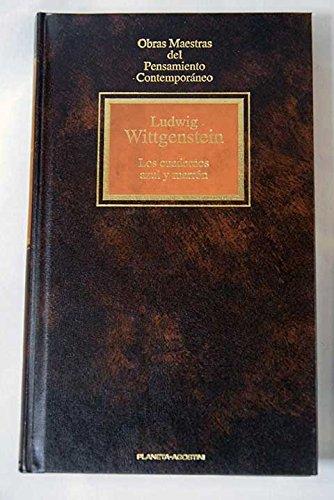 9788439522614: Los cuadernos azul y marrón