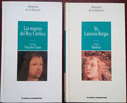 9788439545675: Yo, lucrecia borgia