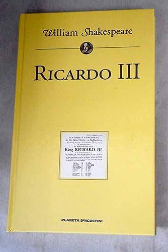 9788439584810: RICARDO III