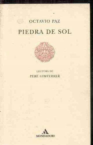 9788439702146: Piedra de Sol (Lecturas de Poesia) (Spanish Edition)