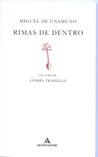 Rimas De Dentro (Lecturas De Poesia, 3): Unamuno, Miguel De;