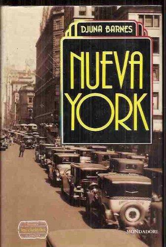 NUEVA YORK. 2ª edición. Traducción del inglés: BARNES, Djuna