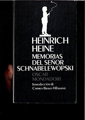 9788439717805: Memorias del señor schnabelewopski