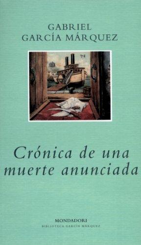 9788439719861: Crónica de una muerte anunciada (Literatura Random House)